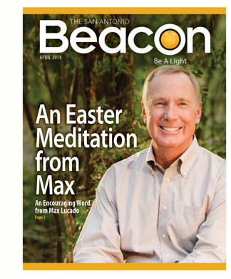 The April issue of The Beacon