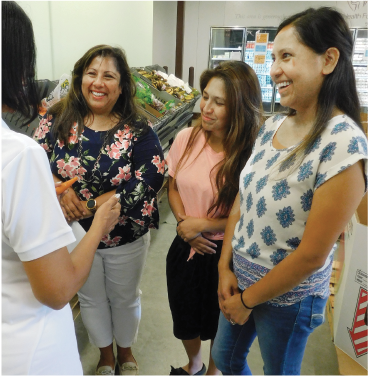Ignite partners with the New Braunfels Food Bank. Ignite's Community Health Program empowers individuals and families who battle with wellness issues and food insecurity.