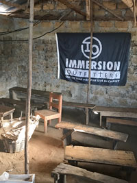 Immersion Outfitters' Liberia children's ministry office is housed in an abandoned U.S. air base.