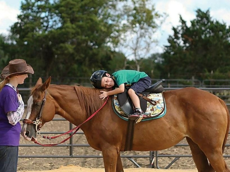 Child Therapy at Open TRAIL Ranch