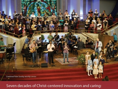 Seven decades of Christ-centered innovation and caring: