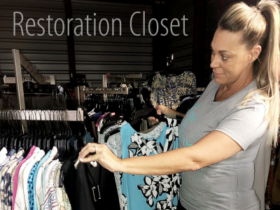 Tell Your Story: Restoration Closet