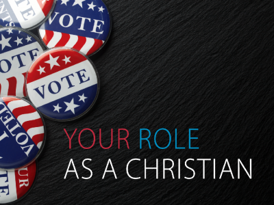 YOUR VOTE: A faith-based platform to help inform your decision