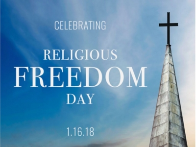 President Donald J. Trump Proclaims January 16, 2018, as Religious Freedom Day